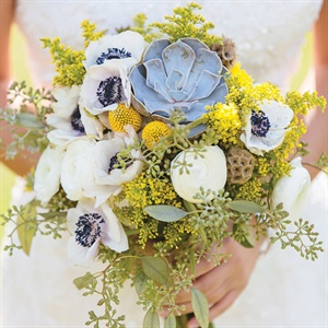 Rustic Chic Bridal Bouquet