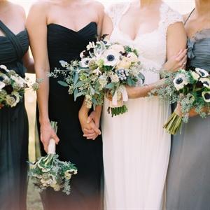 White Anemone Bouquets