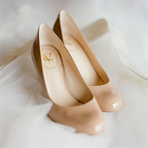 Classic Nude Bridal Shoes
