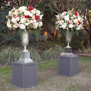 Lush Ceremony Flower Decor