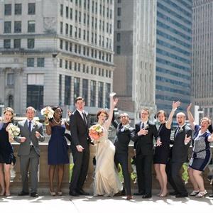Energetic Wedding Party
