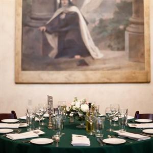 Emerald Reception Table Linens