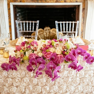 Head Table Floral Arrangement