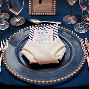 Navy Place Settings