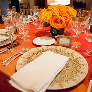 Indian-Inspired Place Settings
