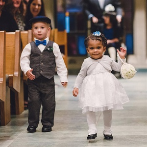 Formal Flower Girl and Ring Bearer