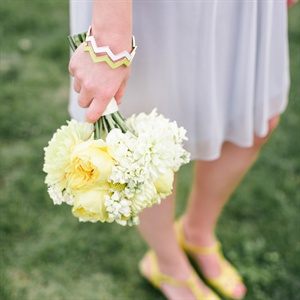 Cheerful Yellow Bridesmaid Bouquets