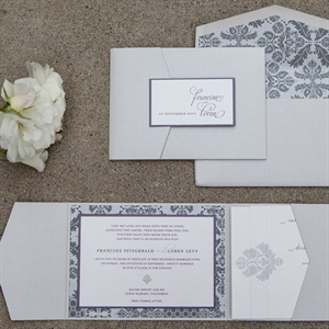 Damask Invitation Suite