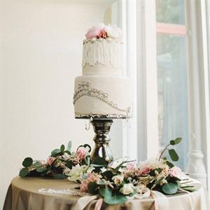 Two-Tier Glamorous Cake