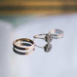 Vintage Gold Engagement Ring
