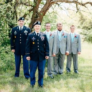 Military Groomsmen Look