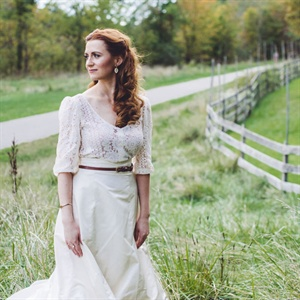 Two-Piece Vintage Gown