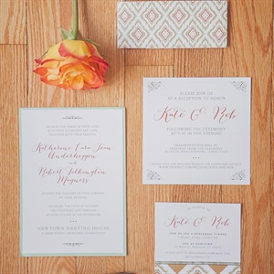 Charming Invitation Set