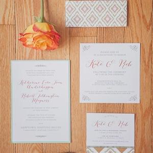 Charming Invitation Set