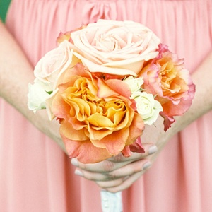 Ombre Rose Bridesmaid Bouquet