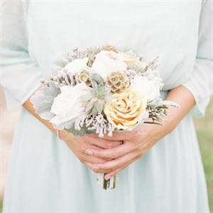 Cool Pastel Bridesmaid Bouquet