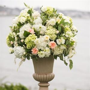 Lush Ceremony Florals