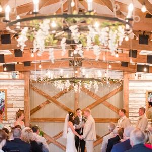 Rustic Indoor Ceremony