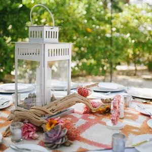 Beachy Table Decor