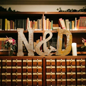 Large Letter Decor