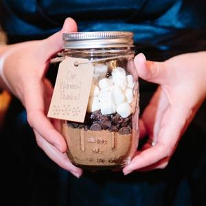 Recipes in a Jar Favors