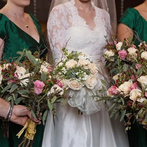 Traditional Bridesmaid Bouquets