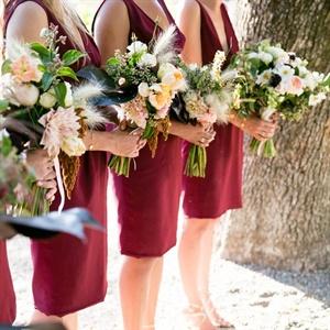 Lush Bridesmaid Bouquets