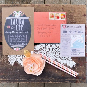 Whimsical Handcrafted Invitations