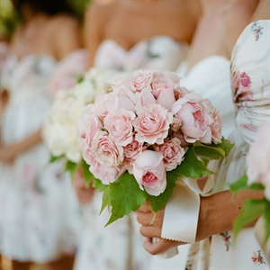 Blush Rose Bridesmaid Bouquet