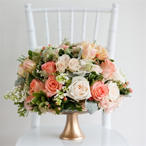 Romantic Pink Centerpieces
