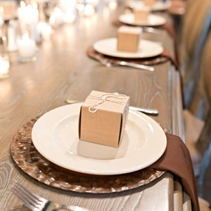 Brown Place Settings