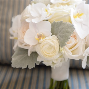 Orchid and Ranunculus Bridal Bouquet