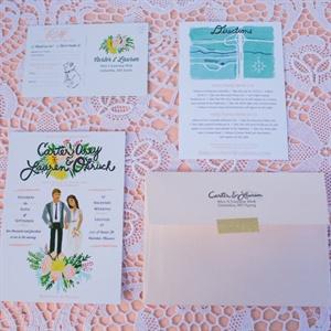 Illustrated Invitation Suite
