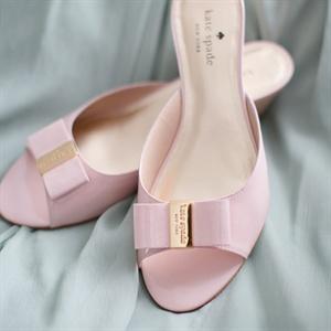 Pink Bow Kate Spade Heels