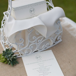 Simply Elegant Ceremony Programs
