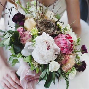 Unique Rustic Bridal Bouquet