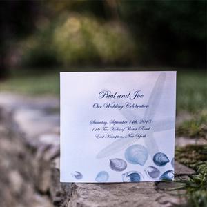 Seashell Invitations