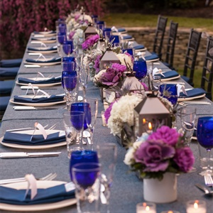 Blue Place Settings