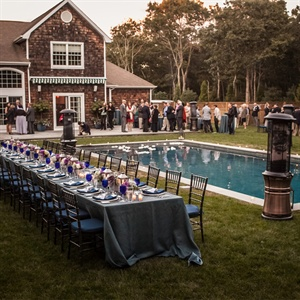 Backyard Reception