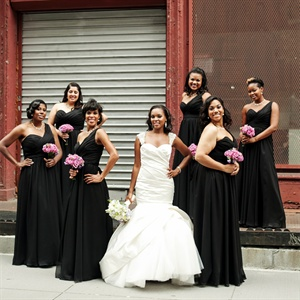 Chic Bridesmaids
