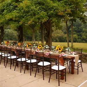 Wooden Farmhouse Tables