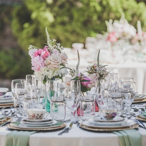 Romantic Table Decor
