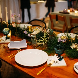 Earthy Table Setting