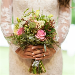 Textured Bridal Bouquet