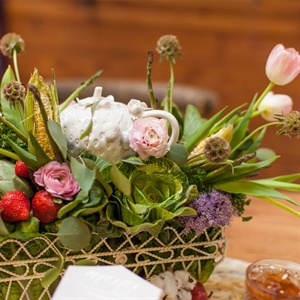 Stawberry Centerpiece
