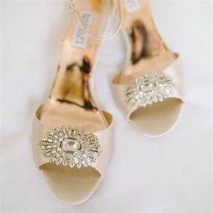 Champagne Badgley Mischka Heels
