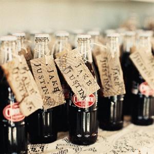 Vintage Soda Favors