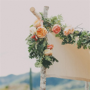 Floral Wedding Canopy Vines