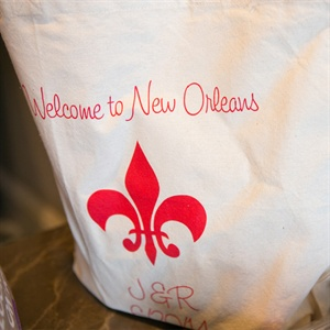 New Orleans Themed Welcome Bags