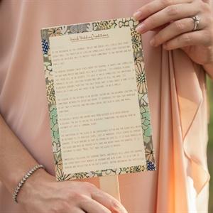 Floral Ceremony Programs
